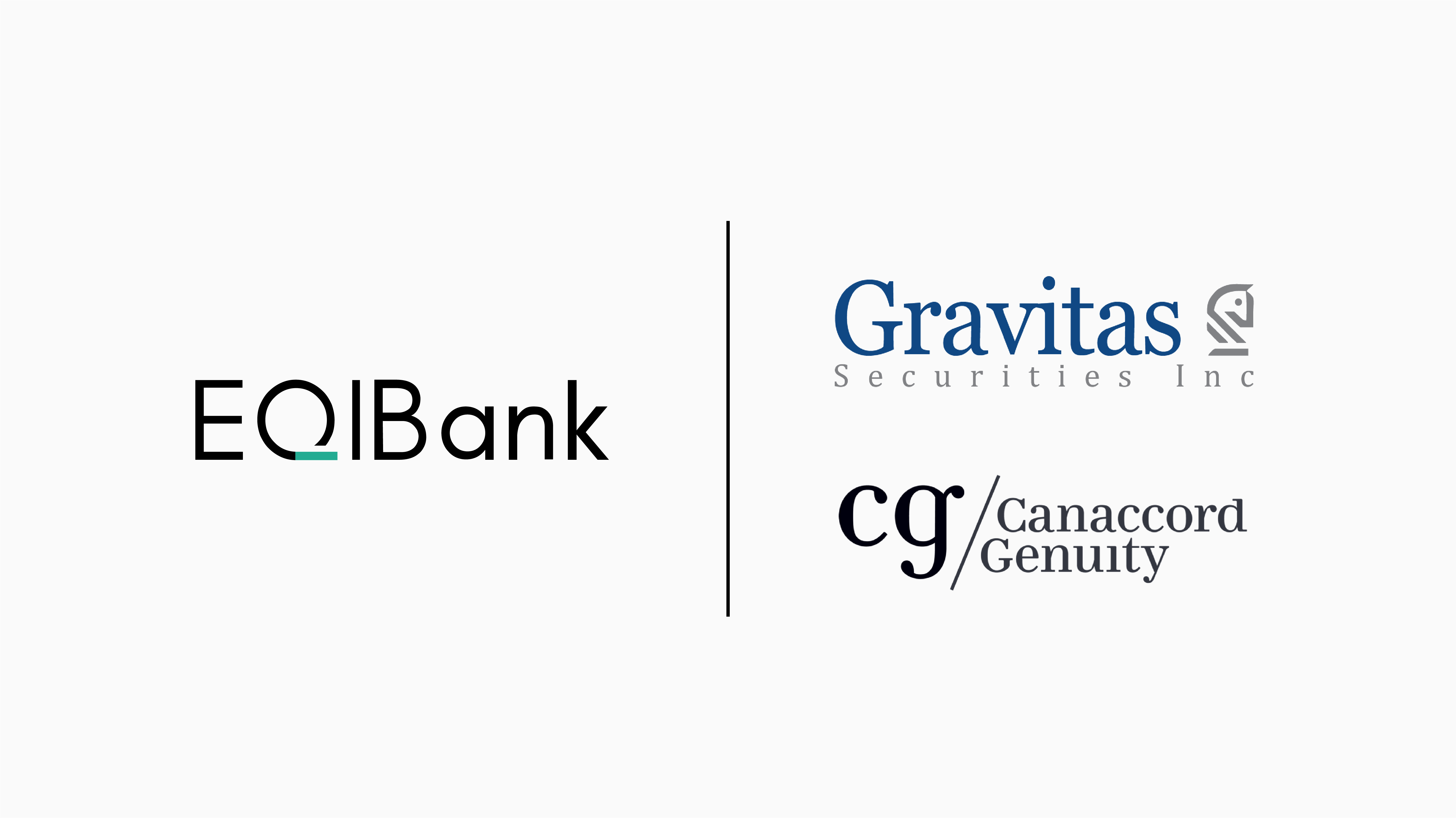 EQIBank Closes Oversubscribed $12.5 Million Series A Round Led by Canaccord Genuity and Gravitas Securities